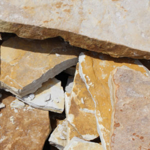Water and Earth yellow sandstone