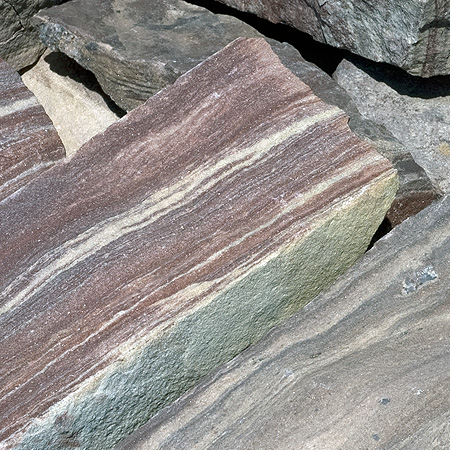 Weater and Earth Violet Ledgerock