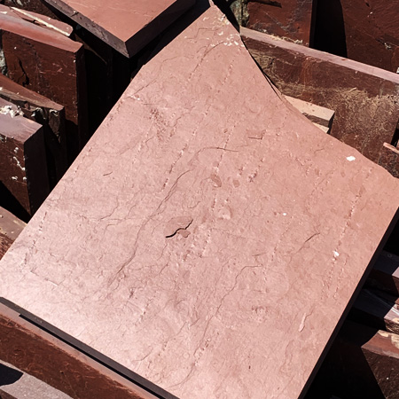 Water and Earth red sandstone